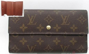 Louis Vuitton France Vintage Tresor International Trifold Wallet With Coin Pocket