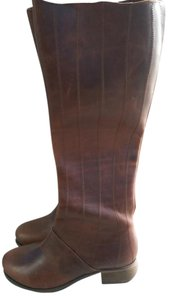 Olukai Leather Hawaiian Designer brown Boots