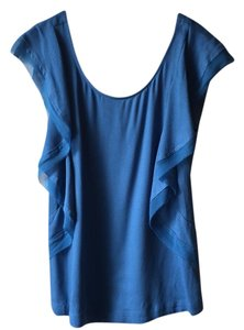 Ella Moss Top Blue