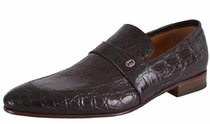 Gucci Men's Loafers Loafers Brown Flats