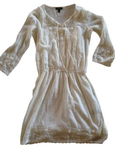 Ralph Lauren short dress cream Cotton Gauze on Tradesy