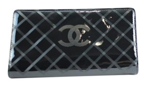 Chanel Quilted Matte Patent Wallet 211285