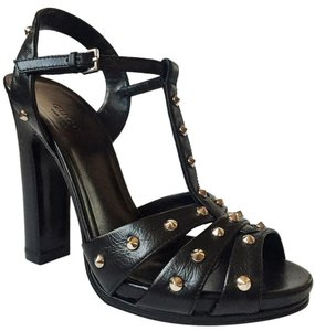 Gucci black, silver Sandals