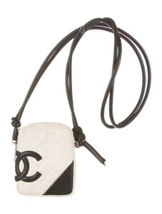 Chanel Two Tone Bicolor Woc Walet On Wallet On Chain Shoulder Bag