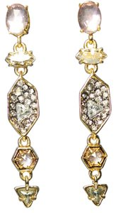 Alexis Bittar Alexis Bittar Pave Dangle Shield Earrings