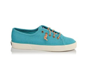 Sperry Canvas Teal Athletic