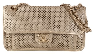 Chanel Cc Ch.k1107.04 Metallic Mesh Ghw Shoulder Bag
