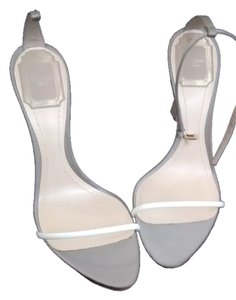 Christian Dior white/gray Sandals