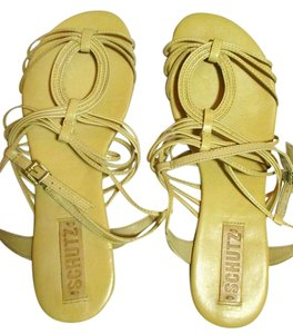 SCHUTZ Baby Tan Sandals