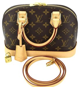 Louis Vuitton Alma Alma Bb Cross Body Bag