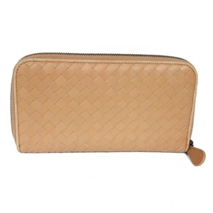 Bottega Veneta BOTTEGA VENETA Zip-Around Continental Long Leather Wallet