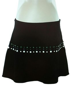Cynthia Rowley Mini Skirt Black