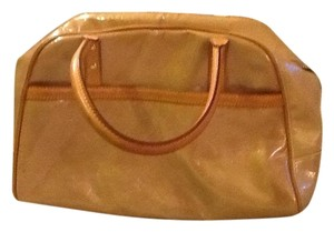 Louis Vuitton Leather Patent Leather Hobo Bag
