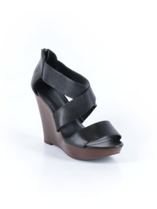 ALDO Leather Strappy Black Sandals