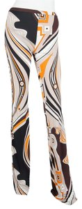 Emilio Pucci Flare Pants Multi Color