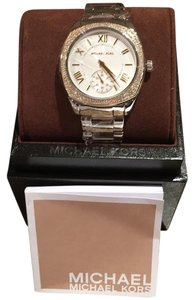 MICHAEL Michael Kors Michael Michael Kors Women's Bryn Two Tone Stainless Steel Warch