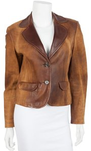 Searle Brown Leather Jacket