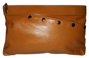 'anton Leathers Leather Vintage Rich golden light brown. Clutch