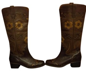 Lucky Brand Brown tan black Boots
