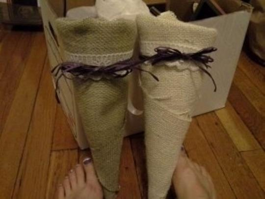 Preload https://item2.tradesy.com/images/sage-green-and-cream-burlap-wrapped-aisle-cones-ceremony-decoration-202181-0-0.jpg?width=440&height=440