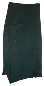 Haider Ackermann Maxi Skirt Green