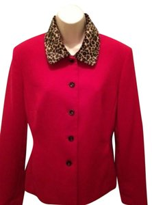 Adolfo Red Blazer