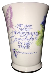 GET Designs Faith Trumpet Mug; Ecclesiastes 3:11 by GET Designs [ MissSundayBest Closet ]