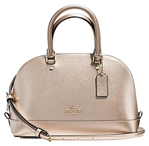 Coach Satchel in gold Midnight