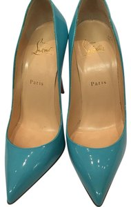 Christian Louboutin Light blue Platforms