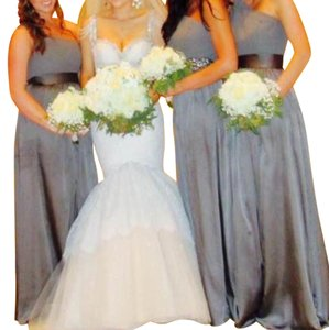 Vera Wang Bridal Gray Vera Wang David Bridal Dress