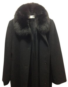 Forecaster of Boston Fox Wool Italian Made In Usa Fur Coat