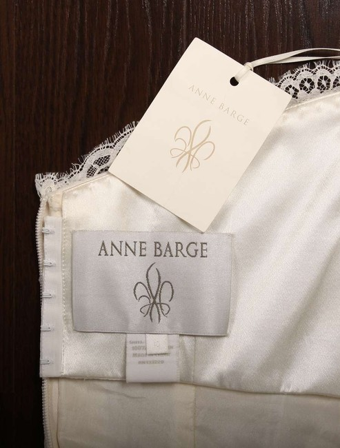 Anne Barge Pearl (Light Ivory) Chantilly Lace and Tulle Hyacinthe Feminine Wedding Dress Size 10 (M) Anne Barge Pearl (Light Ivory) Chantilly Lace and Tulle Hyacinthe Feminine Wedding Dress Size 10 (M) Image 11