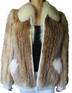 Fox Fur Fur Jacket Real Fur Fur Coat
