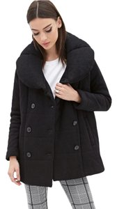 Forever 21 Boxy Puffer Pea Coat