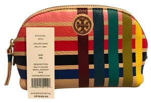 Tory Burch Tory Burch Multi Color Small Makeup Bag