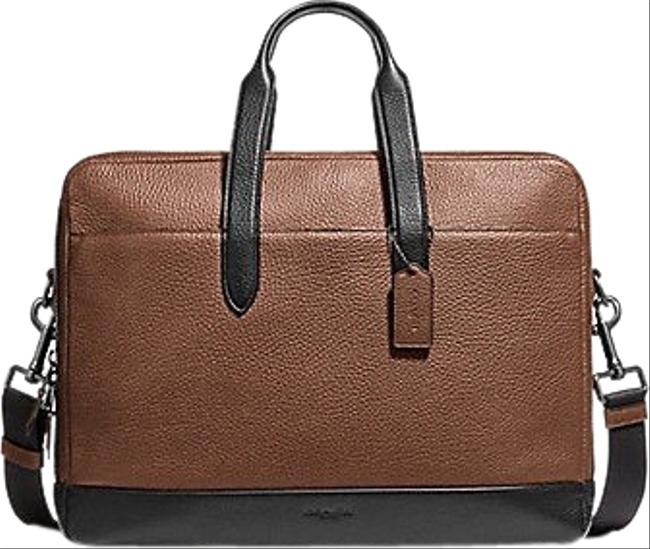Item - Hamilton Day Brief F27617 Brown Leather Weekend/Travel Bag