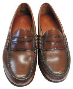Bass Size 7.00 M Leather Brown Flats