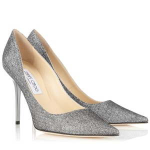 Jimmy Choo Gray Pumps