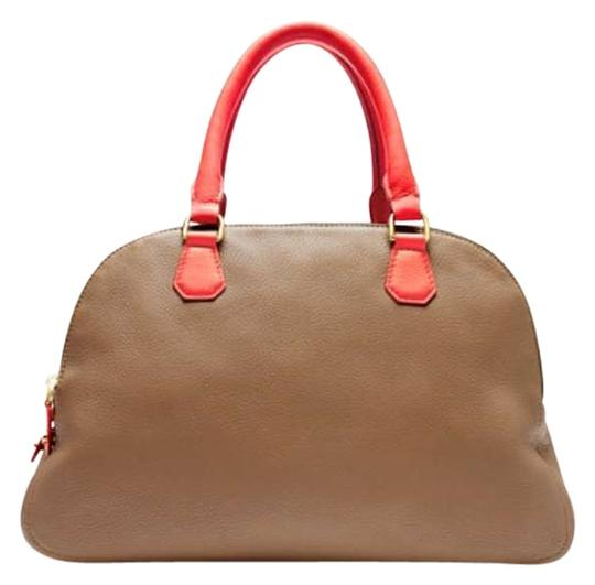 Preload https://item5.tradesy.com/images/jcrew-biennial-poppy-walnut-seed-camel-with-red-orange-handles-leather-satchel-202194-0-0.jpg?width=440&height=440