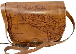 Patricia Nash Designs Braidi Signature Map Cross Body Bag