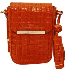 Brahmin Strada Leather Cross Body Bag