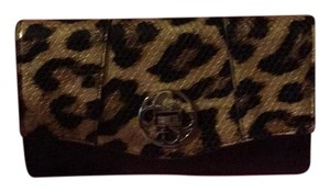 Guess Black/yellow/brown Clutch