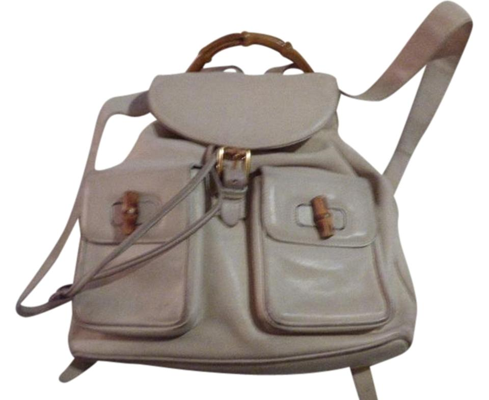 4c956c54016f Gucci Multiple Compartment Backpack/Messenger Very Good Vintage Great For  Everyday Backpack Image 0 ...