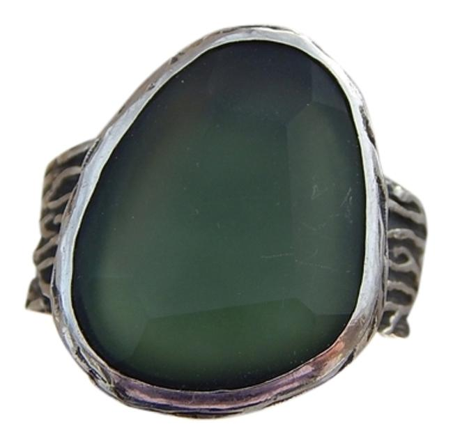 Item - Green Sea Glass - Retired (R1852) Size 9 Ring