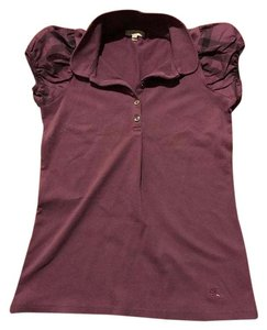 Burberry T Shirt . Purple.