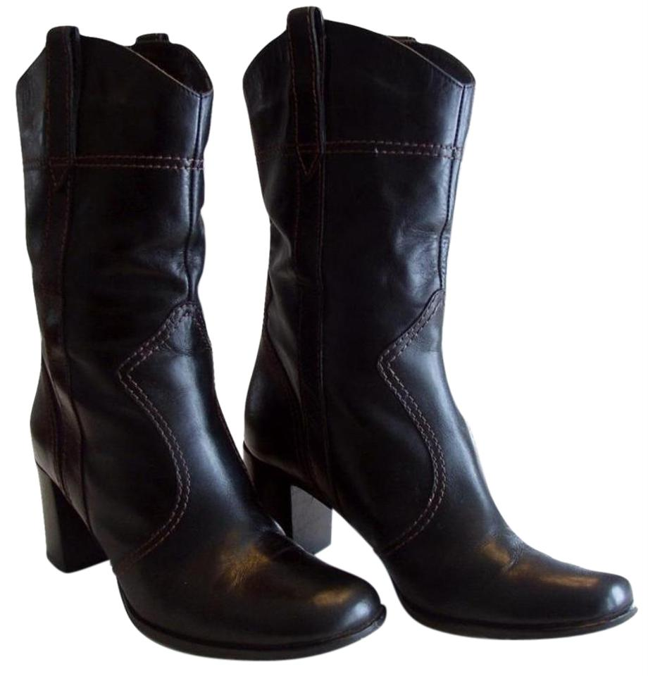 bbef8c9e012 Marc Jacobs Black Western Style Leather Cowboy Boots/Booties Size US 7.5  Regular (M, B) 66% off retail