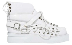Jeffrey Campbell White Platforms