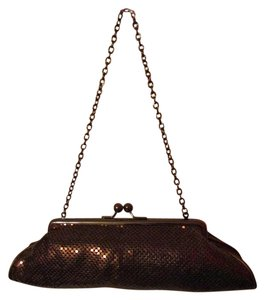 Whiting & Davis Bronze Clutch