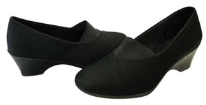 Faded Glory Size 7.00 M Very Good Condition Black Pumps