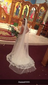 Ivory Length Cathedral Veil